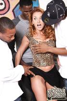 Betty adores interracial gangbang orgy with coloured guys.- Amateur Cuckold Porn