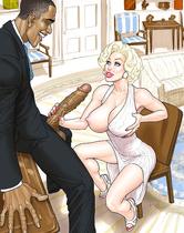 Interracial comics-Jenny couldn't say no to BBC