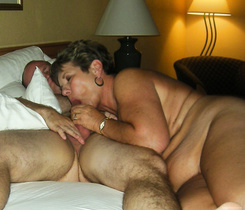 Hawt granny taking the youthful dick