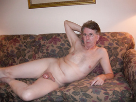 Nude Lying on the Sofa Fully Exposed