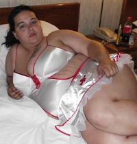 Nurse Babyboo bbw amateur wearing naught nurse outfit