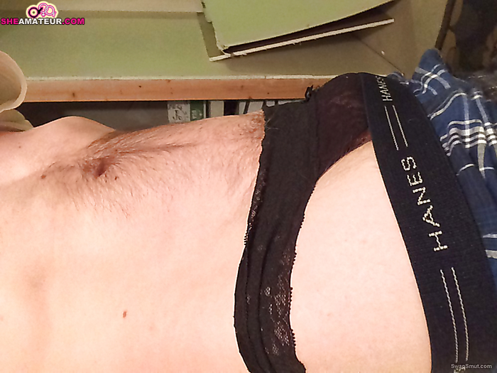 from Levi cum all over her panties