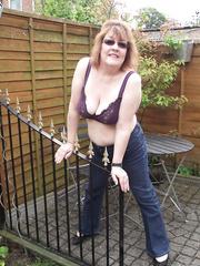 Wife Helen Outside