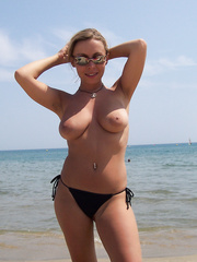 Wife on Beach Pictures