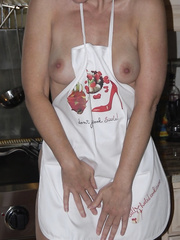 Hot Wife In The Kitchen