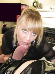 I Love Licking and Sucking Cock until Slimy Cum Squirts in my Mouth