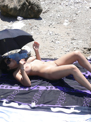 Nude beach pussy hot busty wife naked exhibitionist