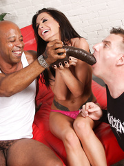 Randi's husband finds us – interracial cuckold