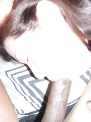 Japanese slut Kazumi Ezoe from Tokyo loves cock blowing in point of view