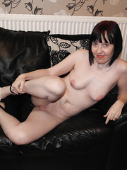 Shy wife spread wide showing off her Cunt