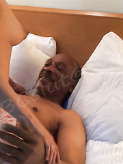 Sixty Five with a Big Black Cock punishing Latinas pussy