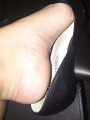 Just a few sexy pictures of my wife indulging in a bit of shoe play