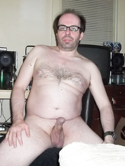 I love being a naked nerd wearing nothing but a pair of glasses