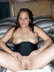 horny girlfriend masturbating with a lollipop