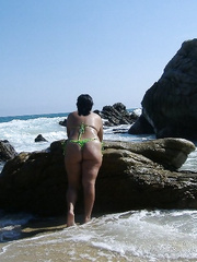 Xaviera in the beach