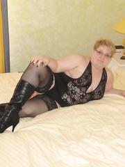 black stockings