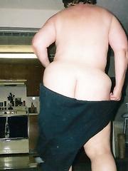 Dancing plump wife