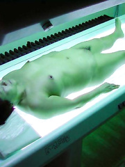 Asian showing nude