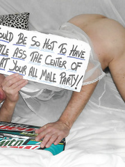 My little ass would enjoy being at an all male party 4 cock fun