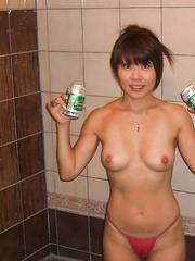 Dirty Cute Cum Loving Sluty Japanese Wife enjoy creampie