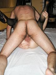 My wife fucking men bareback letting them creampie her vagina