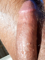 I enjoy tanning in the nude out doors feeling the sun on my body and getting aroused