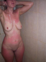 I love to shower