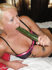 This angel from Manchester actually can't live without cucumbers