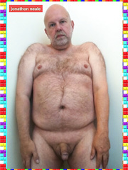 Jon Neale from the UK can't live without to be stripped