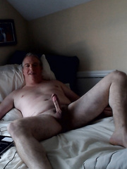Exposing my bare small hard dong for all to watch and share