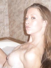 Breathtaking smokin' hawt juvenile beauty wife seductive non-professional pics