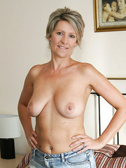 A hot british wife with large love bubbles love to show off her body
