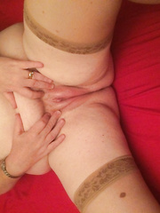 Greater Quantity of my big beautiful woman in her stocking give me a foot jerk off
