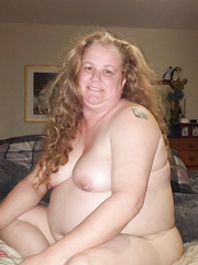 Redhead big beautiful woman floozy wife for exposure and joy