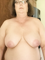 Big Beautiful Woman whore wife in nature's garb for each one to watch