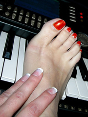 A scarcely any of my allies hot feet mine also