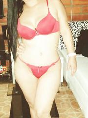 Novia latin chick caliente y de hermosa concha