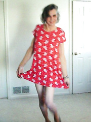 Cute Red Sundress