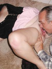 Slut wife Susan serving BBC bulls in front of cuck hubby