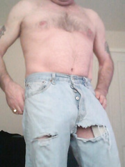 I think my jeans have got a hole in them should I go out these