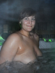 Calgary Hot Tub Porn March 19th 2014 blowjob in the water