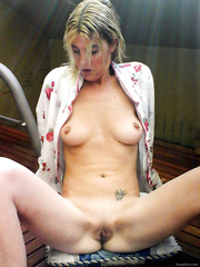 Photos of my shaved pussie just for you love the way it feels