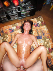 Amature girl with cock in her pussy sopping wet nympho