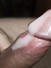 Cock pics with sperm ejaculation caught on photo running down cock