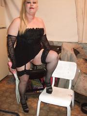 Bondage and Discipline Domina Little temptress black lingerie