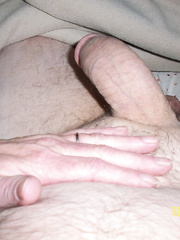 Wife playing my cock with her expert hands amateur handjob
