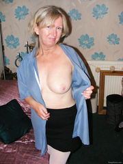Out to please and tease as I can still get into my old school skirt