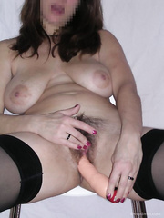 Keen on playing with my pussy masturbating with a vibrator