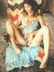 Vintage pics of my wife exposing her body and furry bush