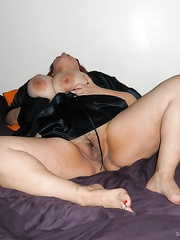 A fat slut wife thats craves black cock with huge natural tits